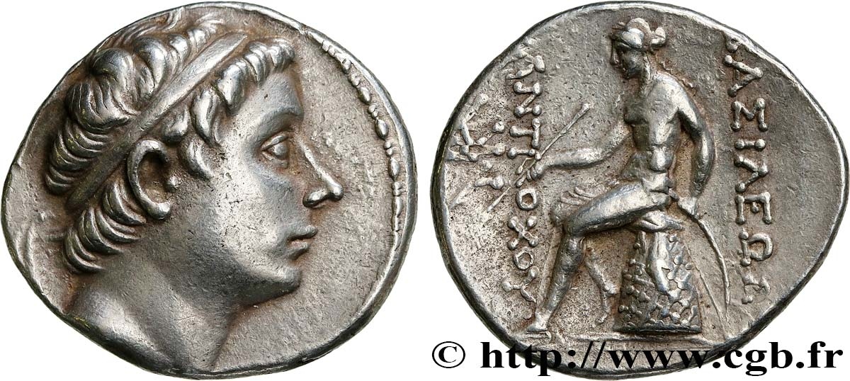 SYRIA - SELEUKID KINGDOM - ANTIOCHUS III THE GREAT Tétradrachme AU