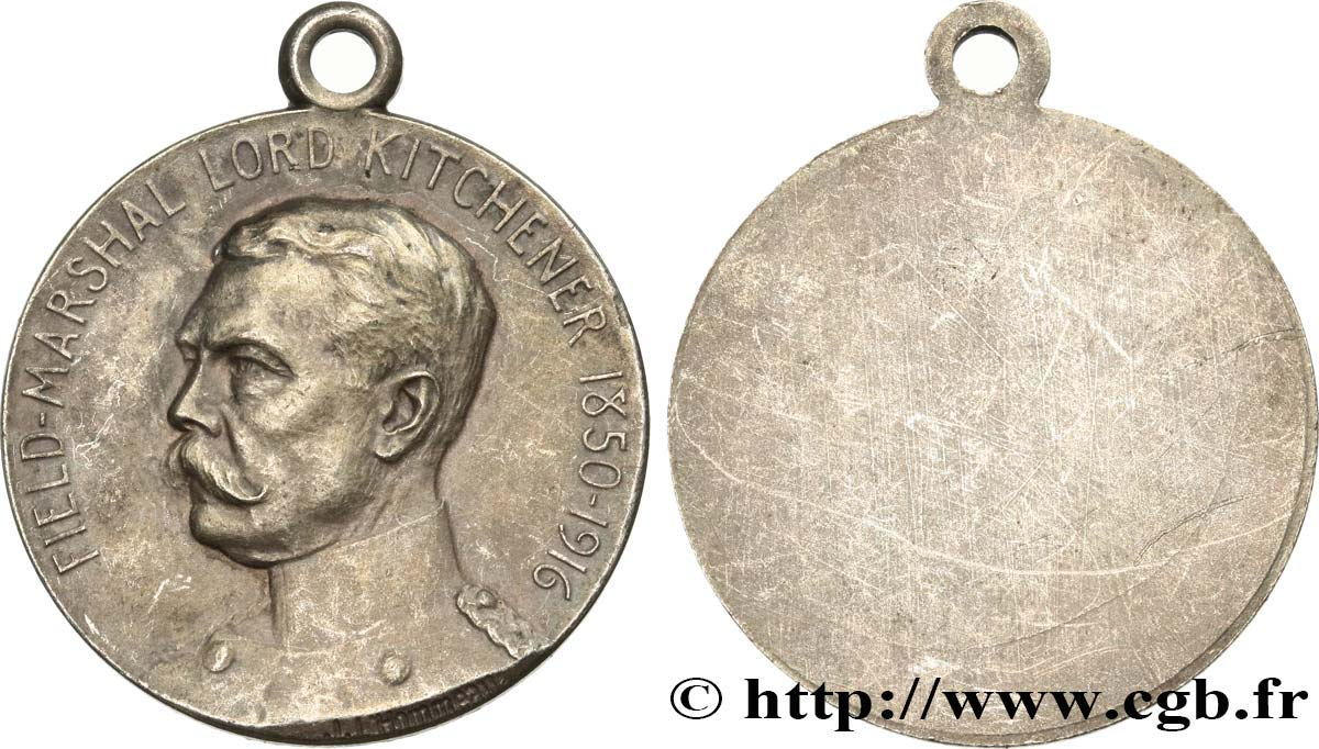 REGNO UNITO Médaille, Feld-Marshal Lord Kitchener BB