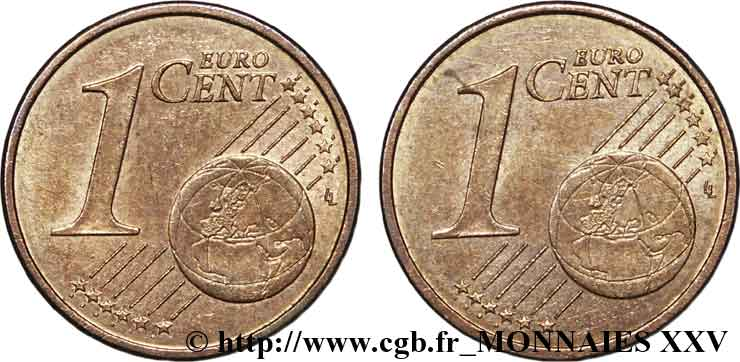 EUROPEAN CENTRAL BANK 1 centime d'euro, double face commune n.d. SPL