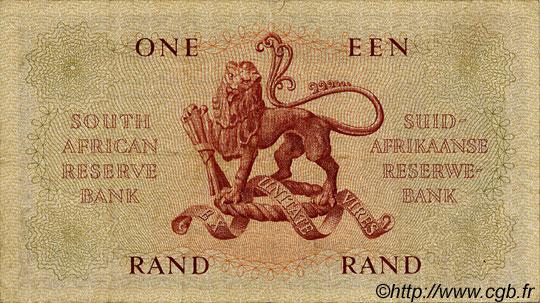 1 rand afrique du sud 1962 p 103b ttb b11 0702 billets