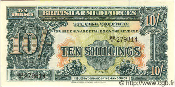 10 Shillings ANGLETERRE  1948 P.M021a NEUF
