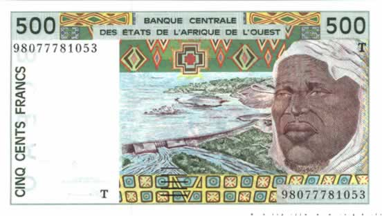 500 Francs TOGO  1998 P.810Th NEUF