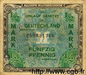1/2 Mark ALLEMAGNE  1944 P.191a TB