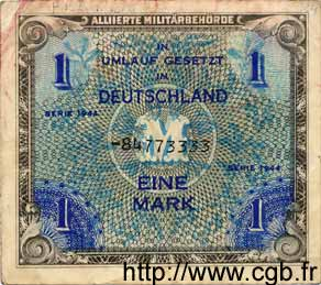 1 Mark ALLEMAGNE  1944 P.192b TB+