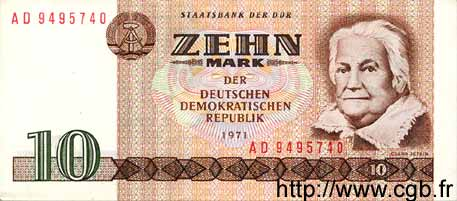 10 Mark ALLEMAGNE  1971 P.028b SUP+