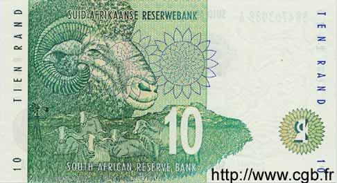 10 rand afrique du sud 1999 p 123b neuf b33 0013 billets
