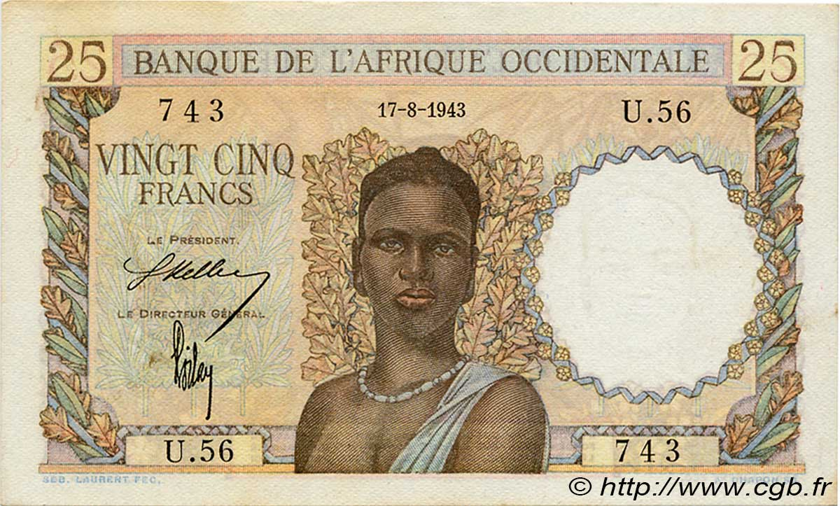 100 Francs Madagascar, 1966 B36_0373a