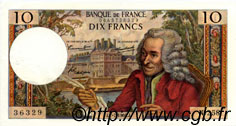 10 Francs VOLTAIRE FRANCE  1966 F.62.22 SUP+