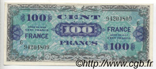 100 Francs FRANCE FRANCE  1944 VF.25.06 SUP