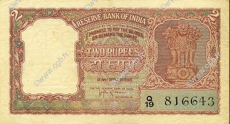 2 Rupees INDE  1949 P.028 SUP