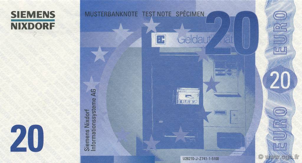 20 Euro ALLEMAGNE  2000  NEUF