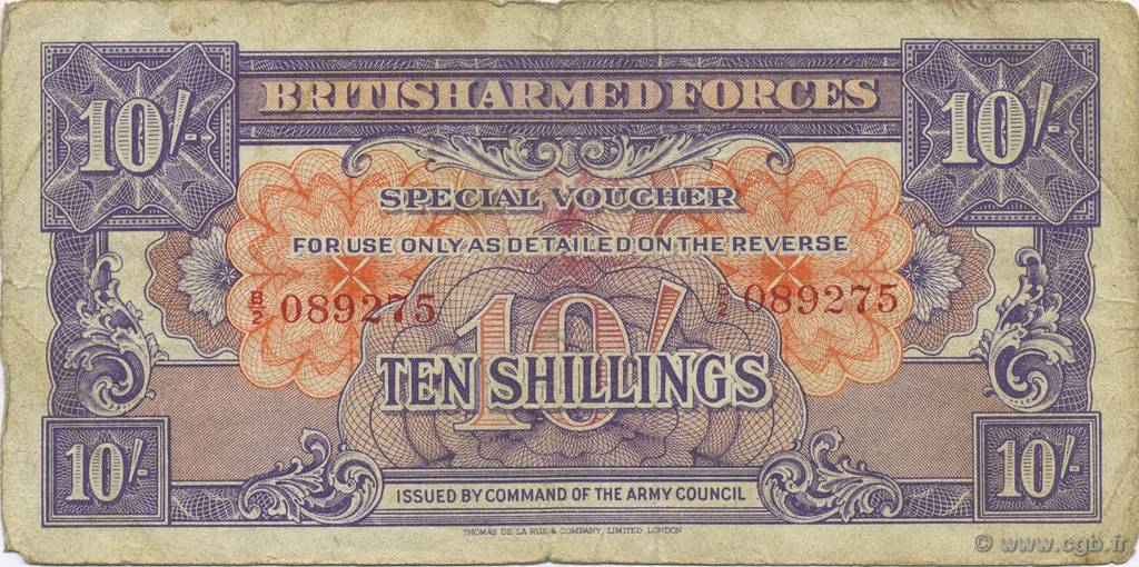 10 Shillings ANGLETERRE  1946 P.M014a B+