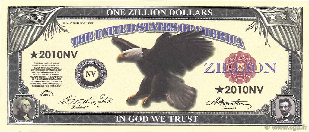 Zillion dollars