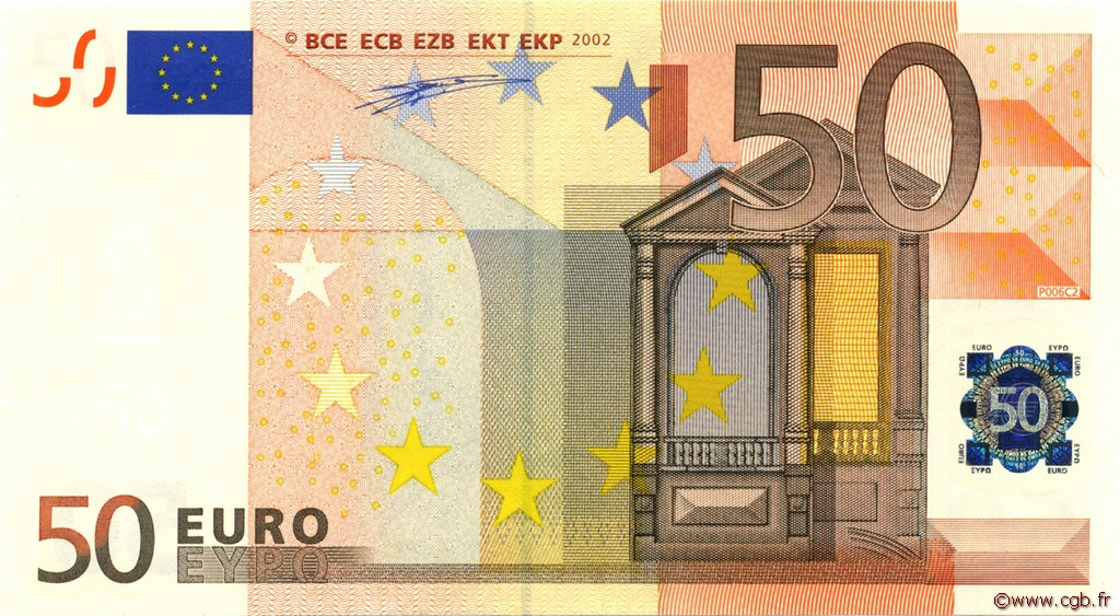 50 Euros ALLEMAGNE  2002 €.130.12 NEUF