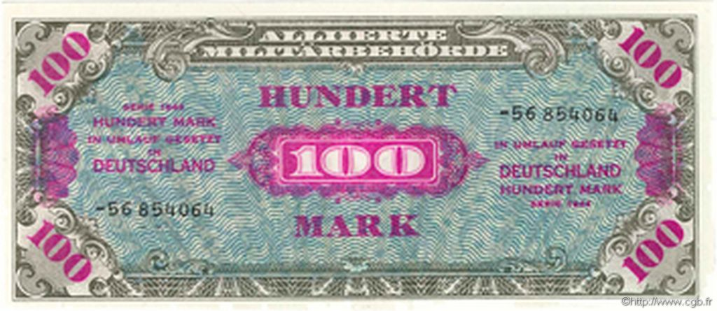 100 Mark ALLEMAGNE  1945 P.197d NEUF