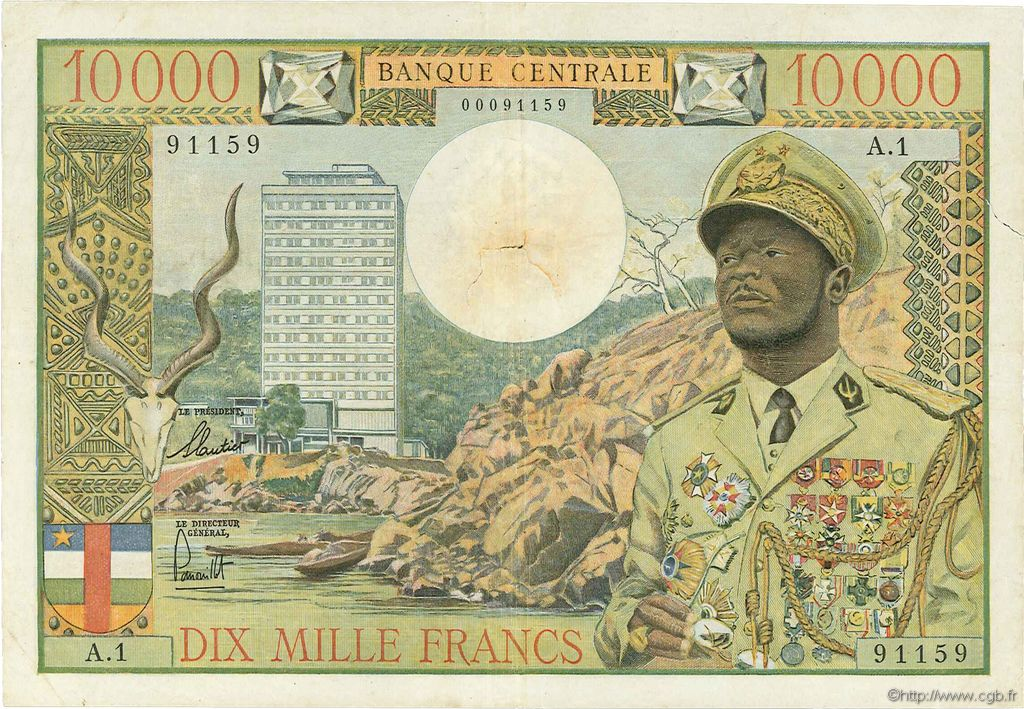 100 Francs Madagascar, 1966 B56_0978a