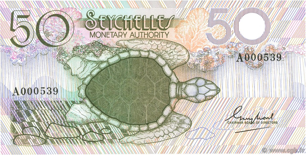 50 Rupees SEYCHELLES  1979 P.25a NEUF