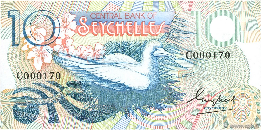 10 Rupees SEYCHELLES  1983 P.28a NEUF