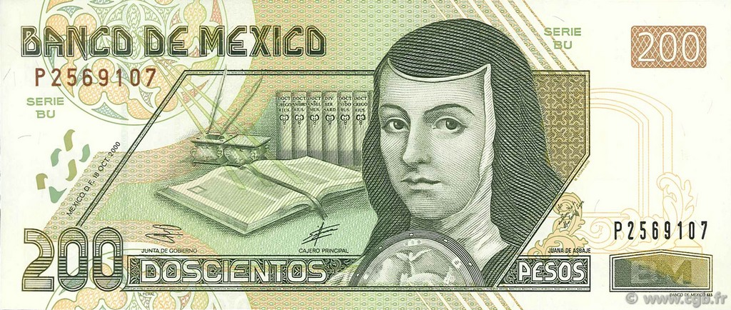 200 Pesos MEXIQUE  2000 P.119a SPL+