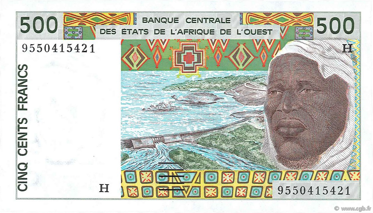 500 Francs type 1991 NIGER  1995 P.610He NEUF