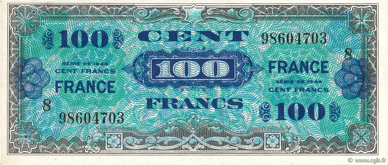 100 Francs FRANCE FRANCE  1945 VF.25.08 SUP