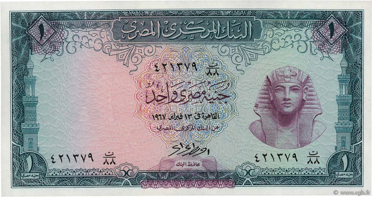 Egypt BANKNOTE 1 Pound UNC