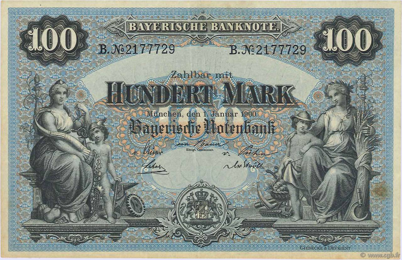 100 Mark ALLEMAGNE  1900 PS.0922 SUP