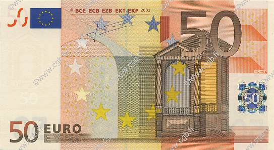 50 Euros ALLEMAGNE  2002 €.130.20 NEUF
