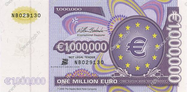 1000000 Euro Publicité EUROPA 2002 €.200 b91_0242 Banknotes