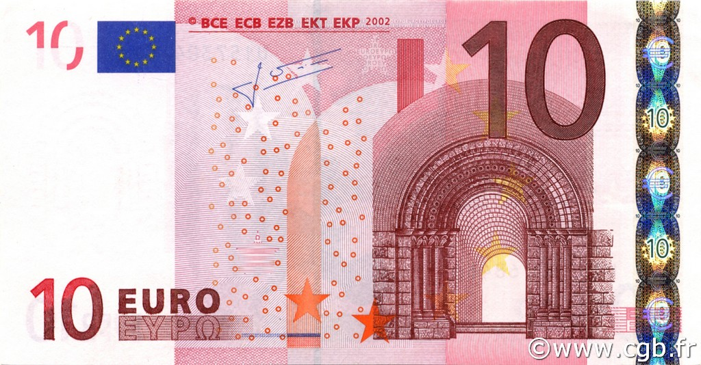 10 Euros ALLEMAGNE  2002 €.110.22 NEUF