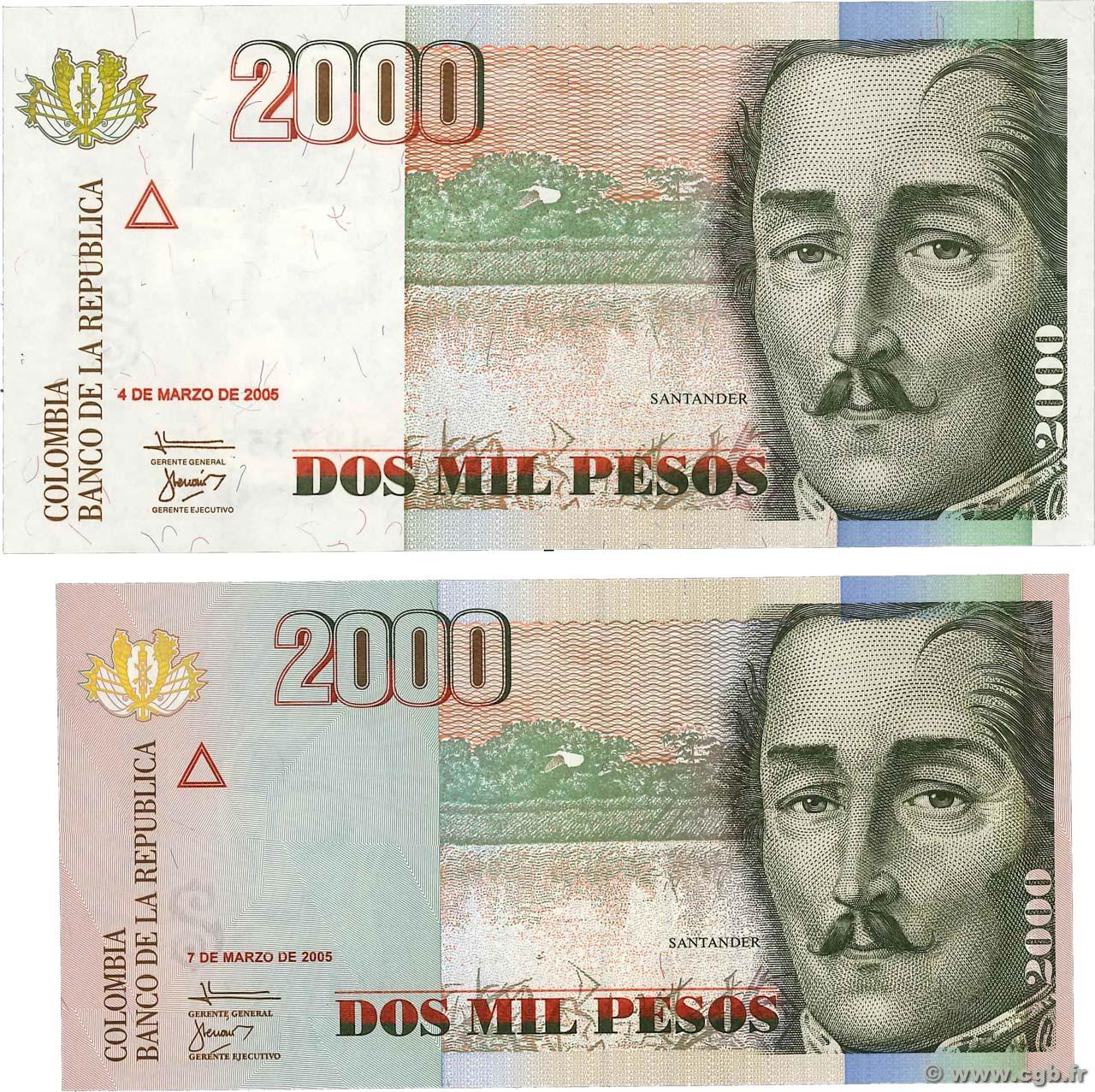 COLUMBIA 2000 Pesos