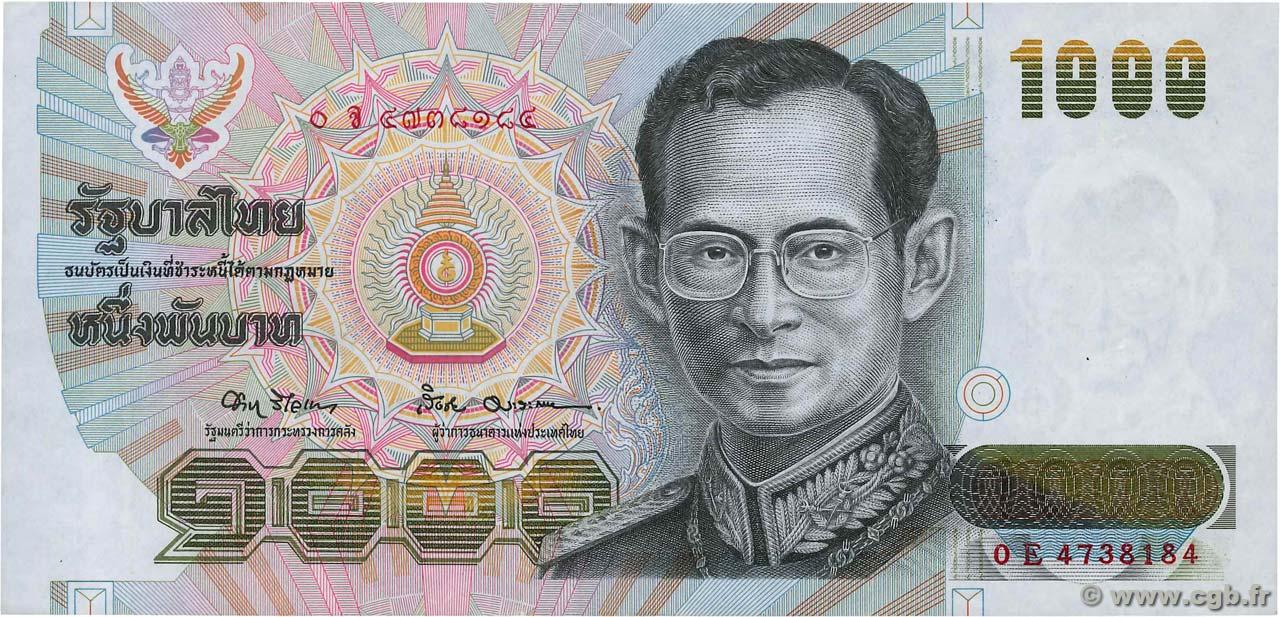 1000 Baht Thailand 1992 P 092 B93 1952 Banknotes