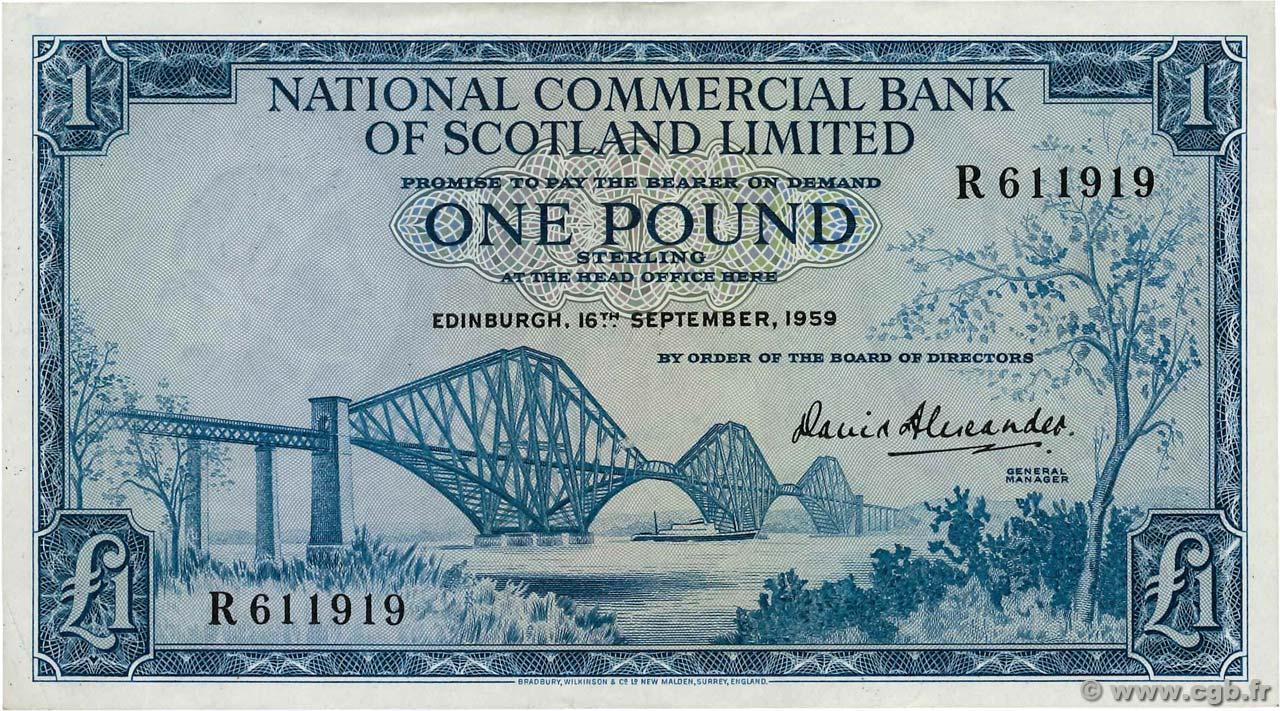 1 Pound SCOTLAND 1959 P.265