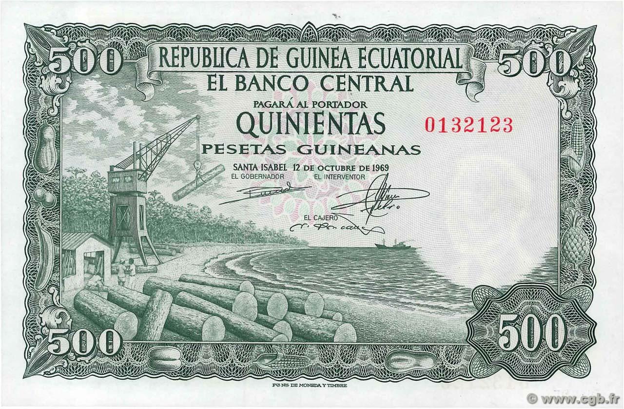 Billete de 100 Pesetas Guineanas 1969 B94_6515a