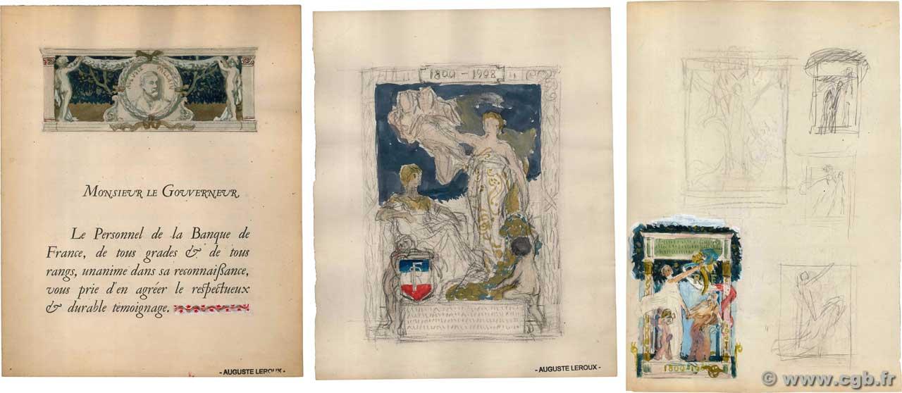 Livre D Or Dessin France 1909 Doc