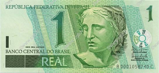 1 Real BRAZIL 2003 P.251 b97_0022 Banknotes