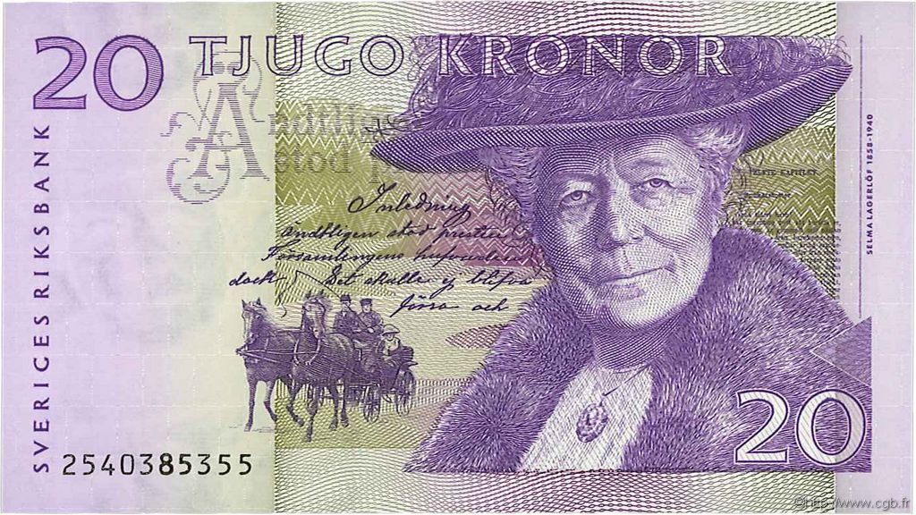 20 Kronor SUÈDE  2002 P.63a NEUF