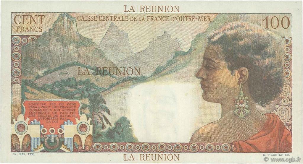 100 francs la bourdonnais le de la r union 1946 ttb b97 2143 billets. Black Bedroom Furniture Sets. Home Design Ideas