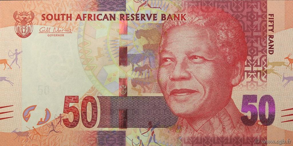 50 rand afrique du sud 2012 p 135 neuf b97 2218 billets