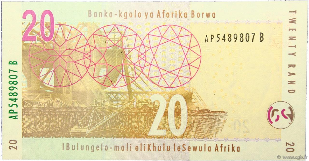 20 rand afrique du sud 2009 p 129b neuf b97 2814 billets