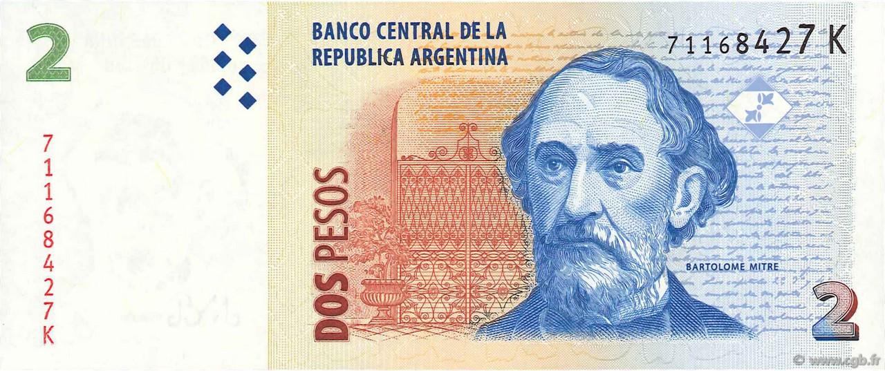 Argentina 2010 Banknote UNC 2 Pesos
