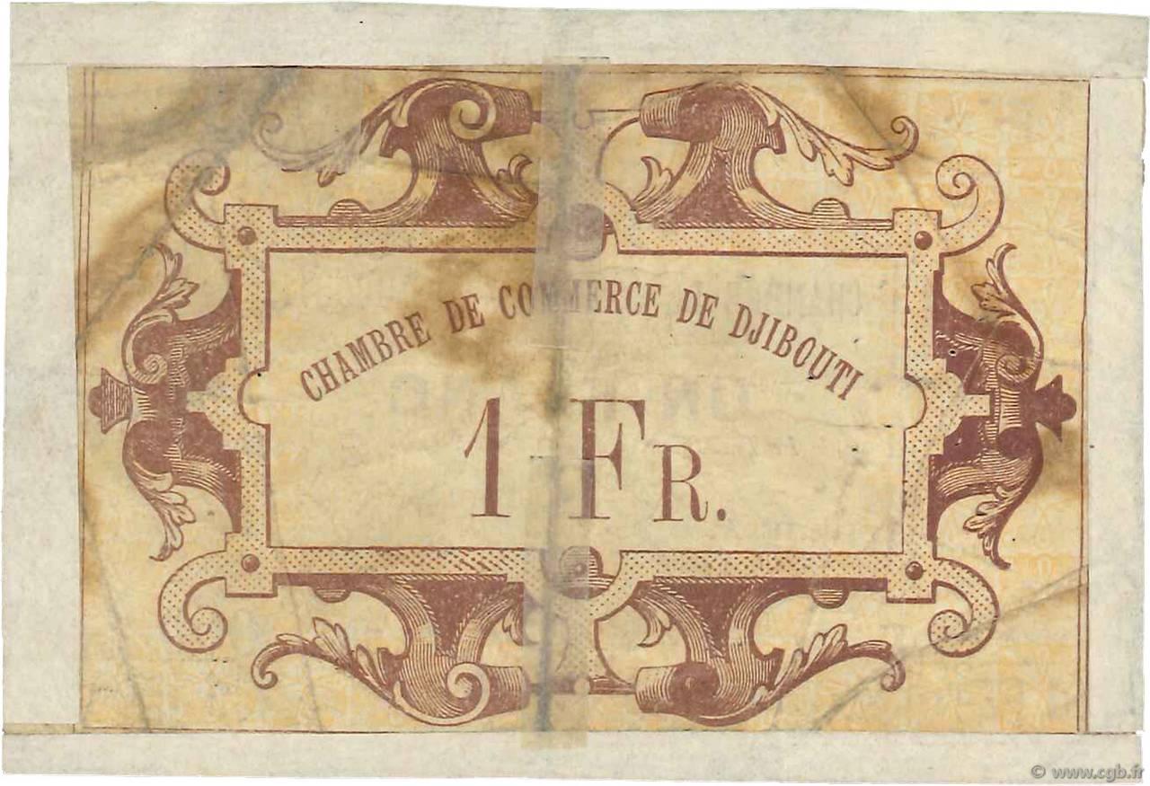 1 franc djibouti 1919 g b97 3176 banknotes for Chambre de commerce djibouti