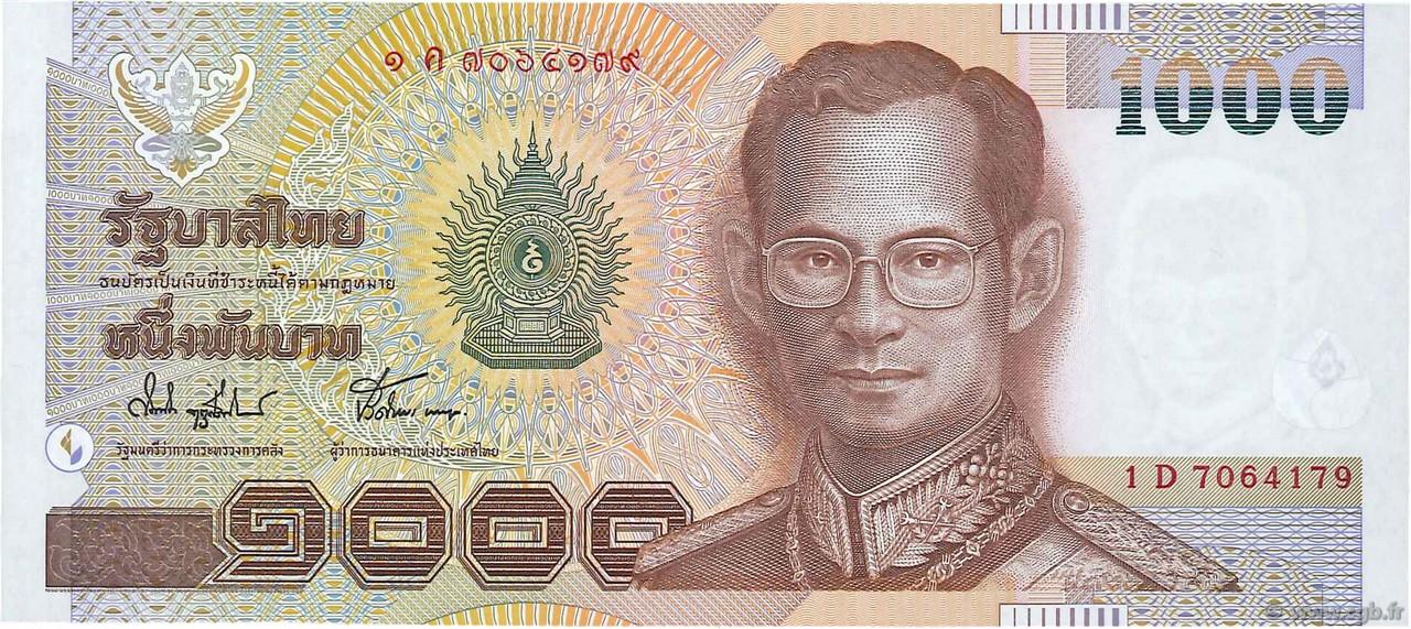 1000 Baht Thailande 2000 P 108 B97 3627 Billets