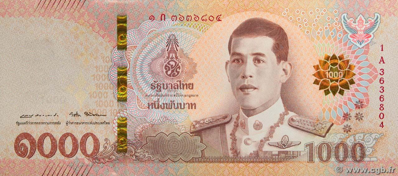 1000 Baht Thailand 2018 P 139 B97 6924 Banknotes