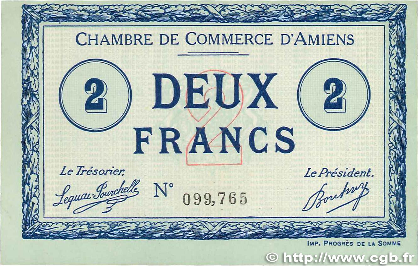 2 francs france r gionalisme et divers amiens 1915 for Chambre de commerce amiens