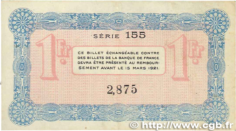 1 franc france r gionalisme et divers annecy 1916 for Chambre de commerce annecy