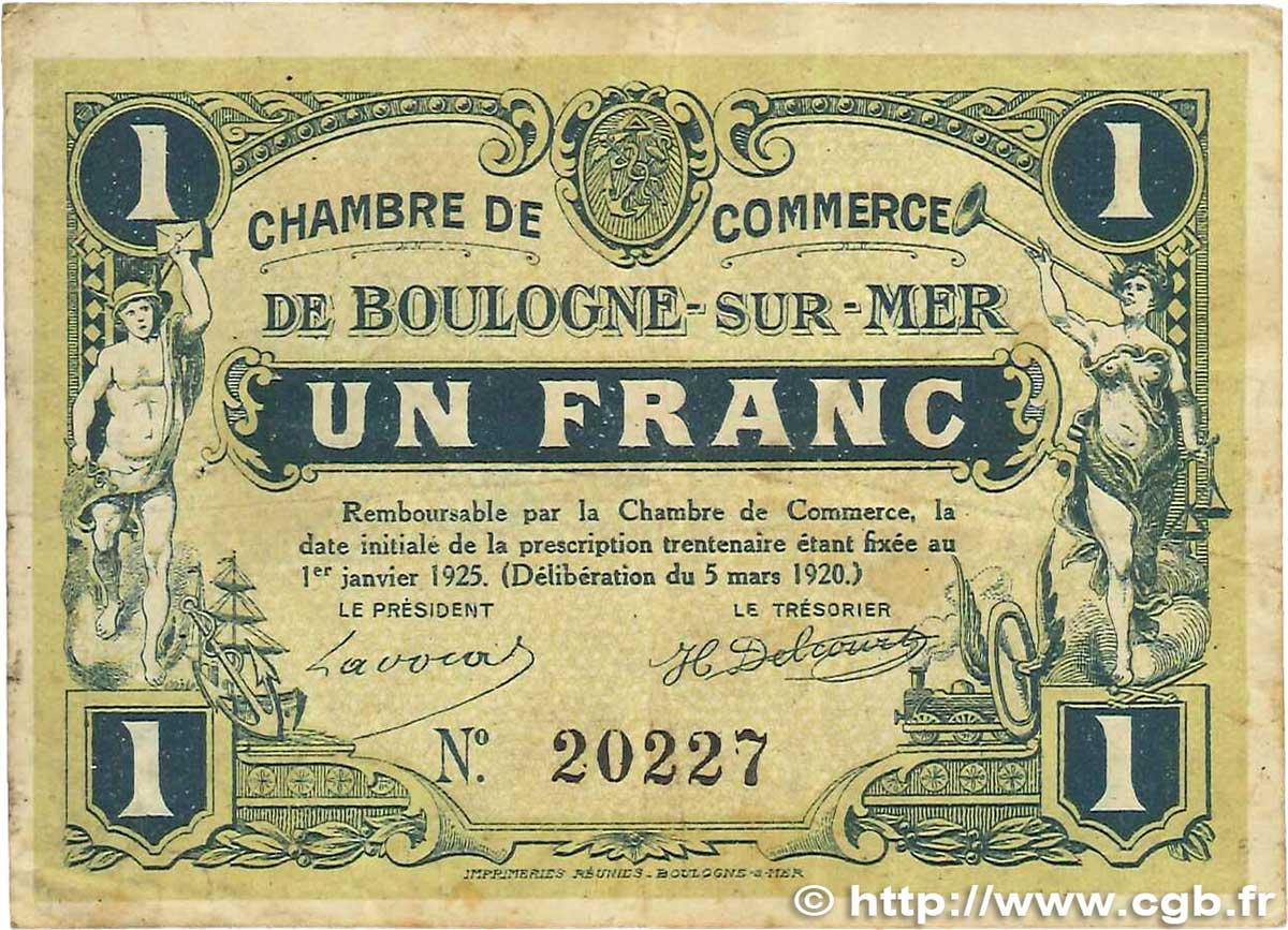 ... Mer Travel Poster Giclee Chambre De Commerce Boulogne 1 Franc  Regionalism And Miscellaneous Boulogne Sur ...