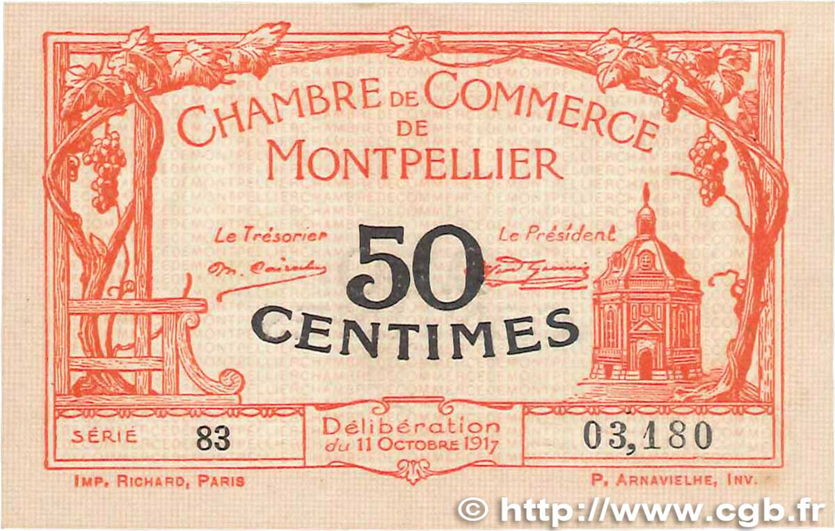 50 centimes france regionalism and various montpellier 1917 axf b99 1064 banknotes. Black Bedroom Furniture Sets. Home Design Ideas