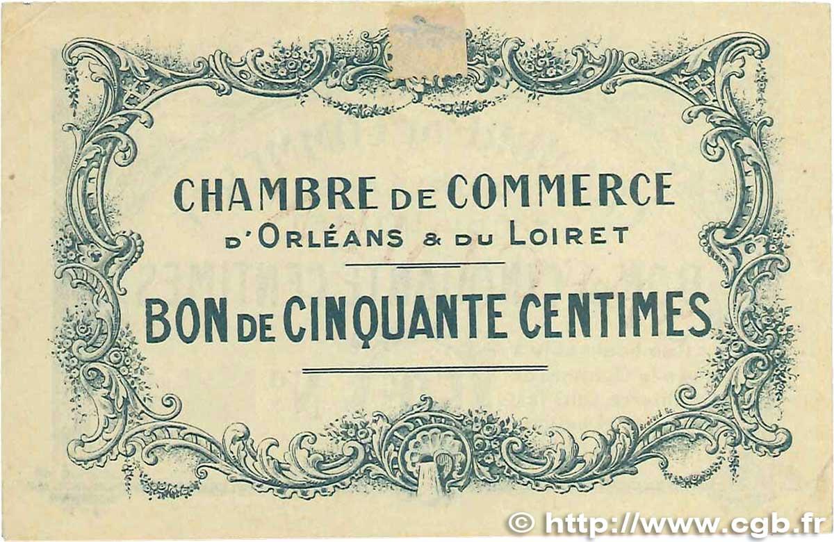 50 centimes france r gionalisme et divers orl ans 1914 ttb b99 1250 billets. Black Bedroom Furniture Sets. Home Design Ideas