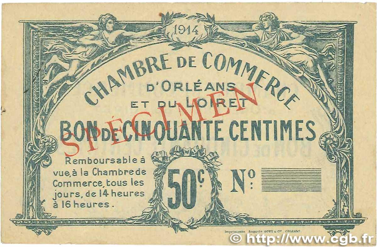 50 centimes france r gionalisme et divers orl ans 1914 ttb b99 1251 billets. Black Bedroom Furniture Sets. Home Design Ideas